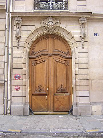 Portes anciennes de paris - Fourriere porte pouchet paris 17 ...